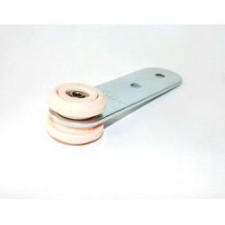 Pojedyncza rolka kurtyny bocznej naczepy fi 31 mm, 44-090