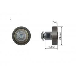 Rolka dachu skład. fi 24 mm , 052023