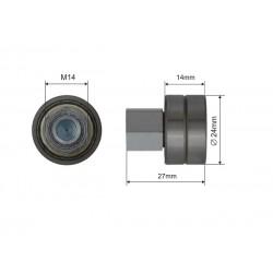 Łożysko dachu składanego naczepy fi 24 mm, 44-031